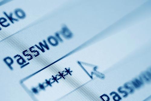 mot de passe sur le net
