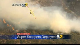 kcbs-superscooper-exiting-brush-fire-site