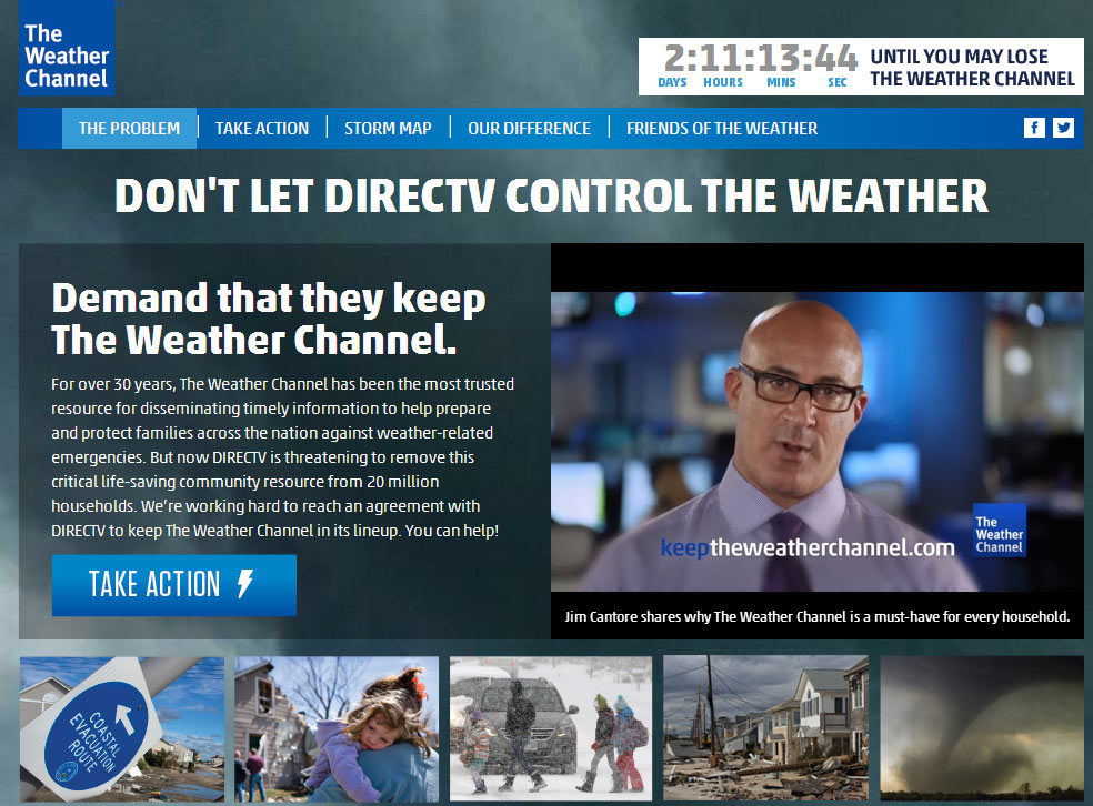 jim cantore weather channel married