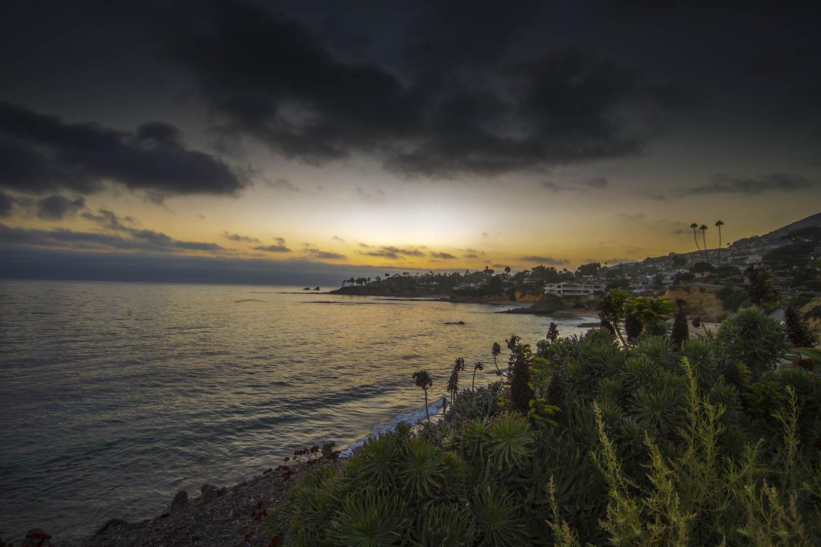 Sunset Laguna Beach Saturday