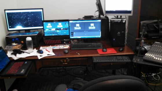Slooh control room, East Hartford, CT