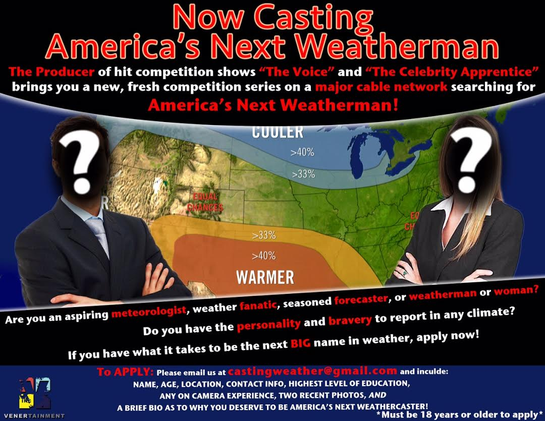 Now Casting For Weathermen — My Permanent Record