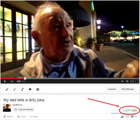 My dad tells a dirty joke   YouTube