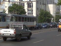 Bucharest, Romania traffic