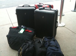 baggage at the curb at BDL.jpg
