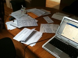 tax return info on the table.jpg