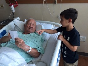 judah give a picture to grandpa