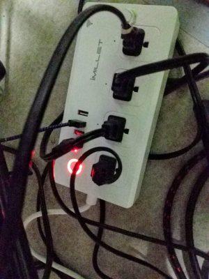 Alexa powered power strip